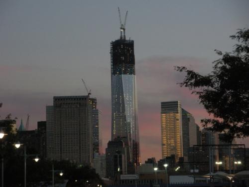 One World Trade on September 11, 2012