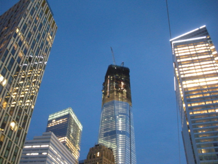 One World Trade in May 2012