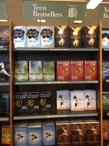 All I Need, The Hunger Games, Divergent, The Fault in Our Stars