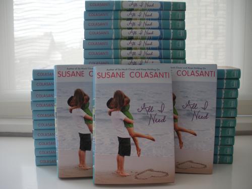 All I Need by Susane Colasanti