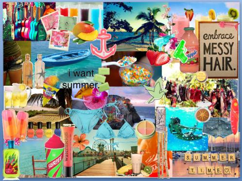 Summer Collage Susane Colasanti Blog