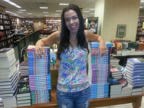 Susane Colasanti at Barnes & Noble, Philadelphia