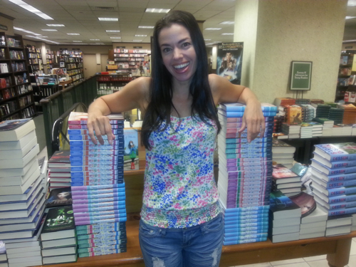 Susane Colasanti at Barnes & Noble, Philadelphia
