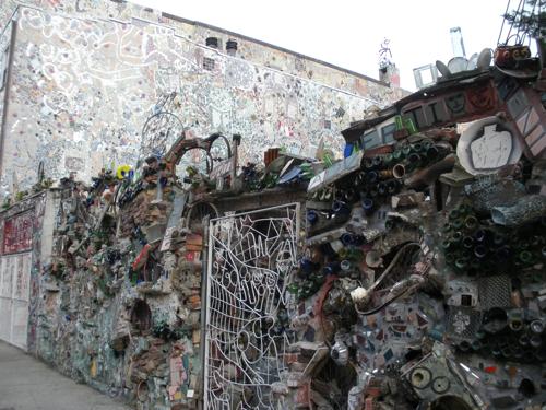Tile mosaic on South Street, Philadelphia