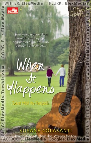 When It Happens by Susane Colasanti, Indonesian edition