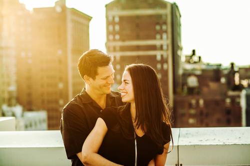Matt Huntington and Susane Colasanti, photo by Jayd Jackson