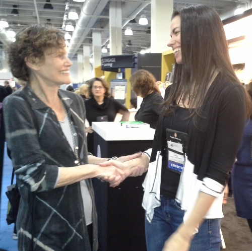 Judy Blume and Susane Colasanti