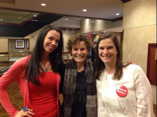 Susane Colasanti, Judy Blume, and Sarah Dessen