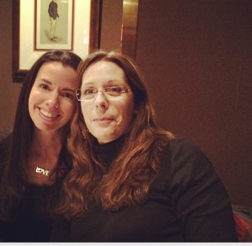 Susane Colasanti and Laurie Halse Anderson
