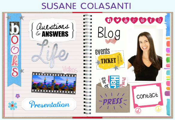 Susane Colasanti - Official Website homepage