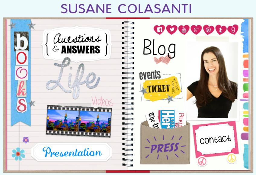 Susane Colasanti - Official Website homepage