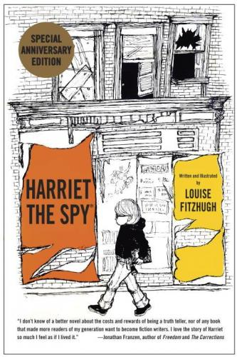 Harriet the Spy by Louise Fitzhugh, 50th Anniversary edition