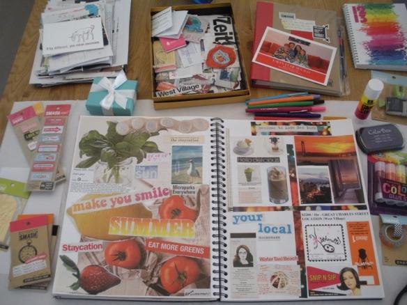 Susane Colasanti's scrapbook, Summer 2008