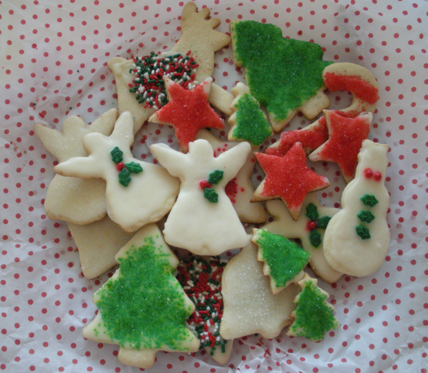 Christmas cookies after