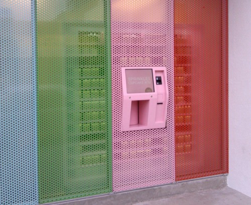 Sprinkles 24-hour cupcake ATM in NYC