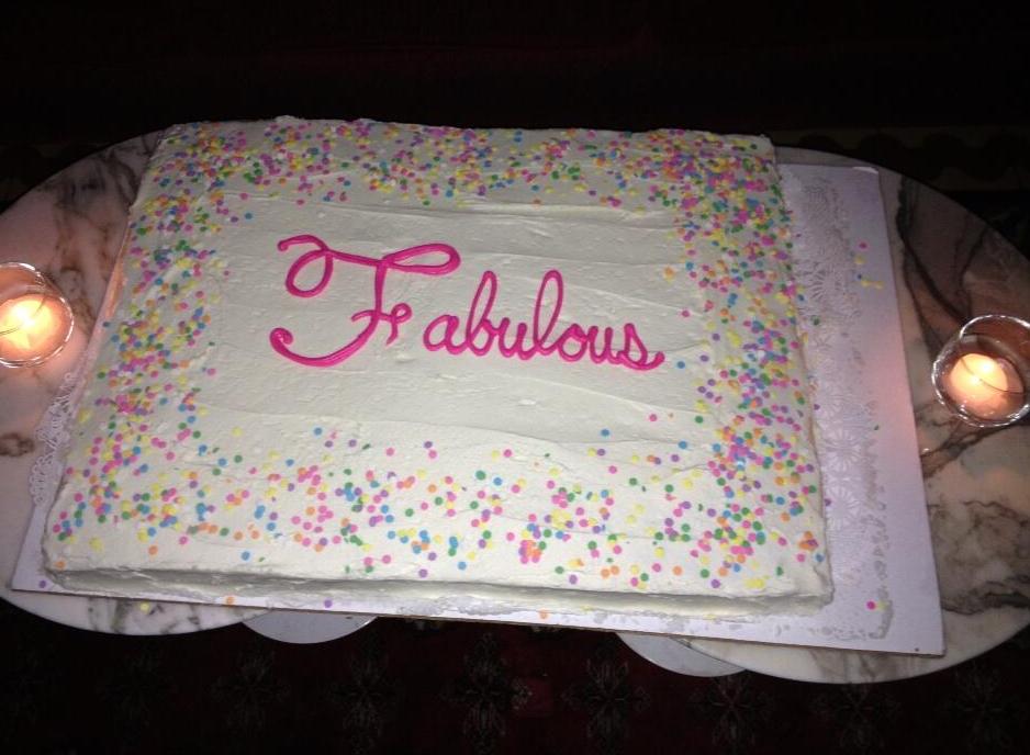Susane Colasantis Fabulous At 40 Birthday Cake Susane Colasanti