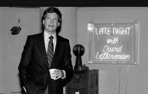 David Letterman in 1982