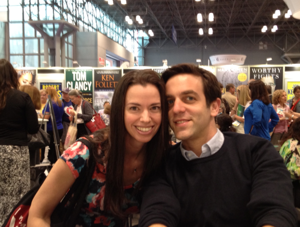 Susane Colasanti and B.J. Novak, BEA 2014