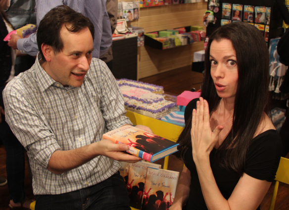 David Levithan and Susane Colasanti