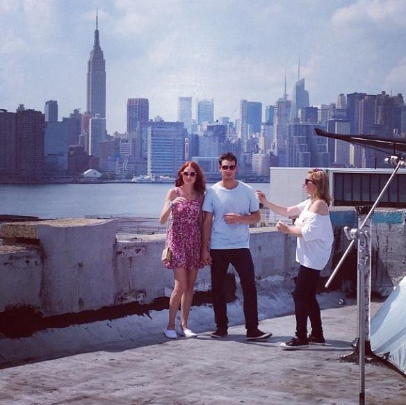 City Love by Susane Colasanti photo shoot