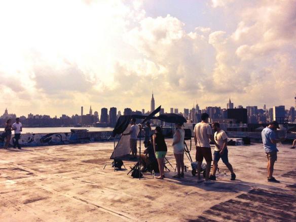 City Love by Susane Colasanti cover shoot
