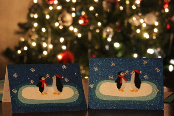 Soul mate holiday cards