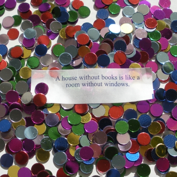 A house without books is like a room without windows.