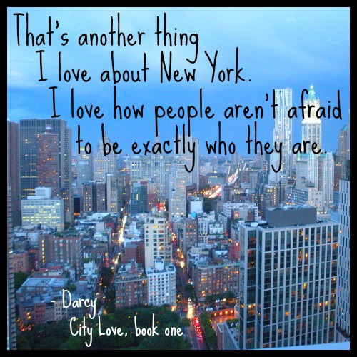 Darcy, City Love by Susane Colasanti
