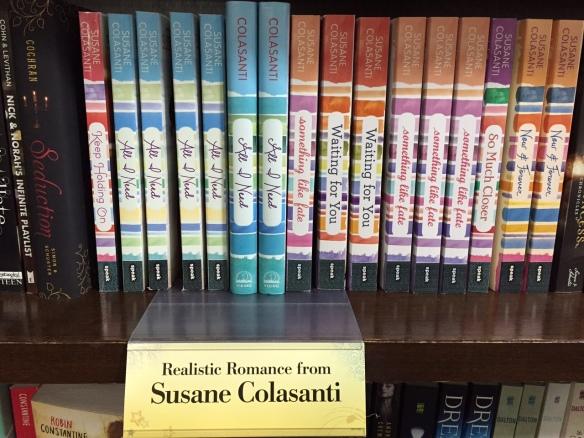 Realistic Romance from Susane Colasanti