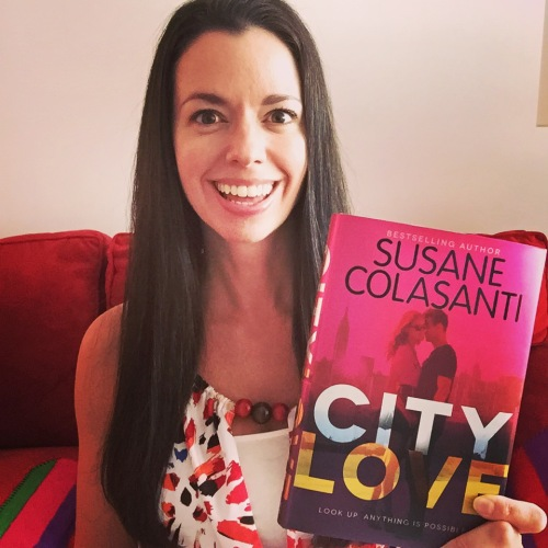Susane Colasanti with City Love
