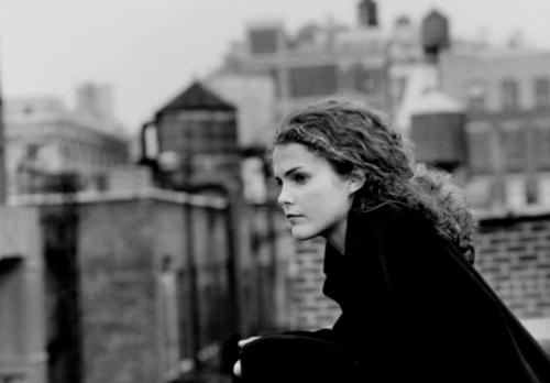 Felicity Porter, rooftop