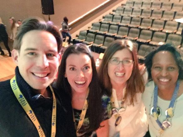 Aaron Hartzler, Carolyn Mackler, Susane Colasanti, and Nicola Yoon