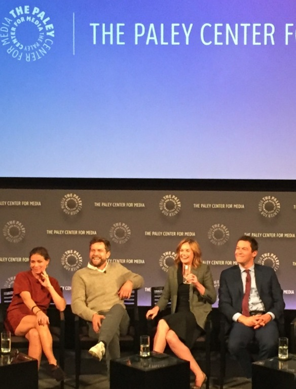 The Affair cast at the Paley Center, October 12, 2015