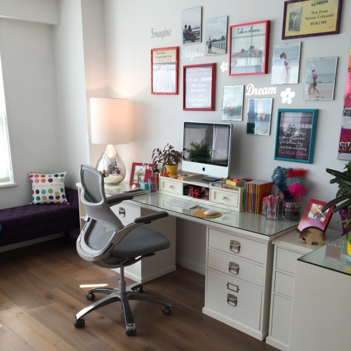 Susane Colasanti's home office