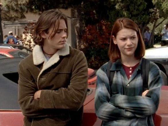 Jordan Catalano and Angela Chase