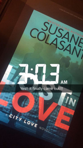 Lost in Love by Susane Colasanti release day!