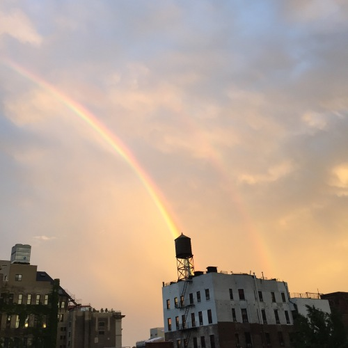 New York City rainbow, June 5, 2016