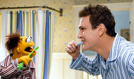 Jason Segel in The Muppets