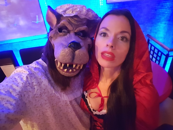 The Big Bad Wolf and Little Red Riding Hood