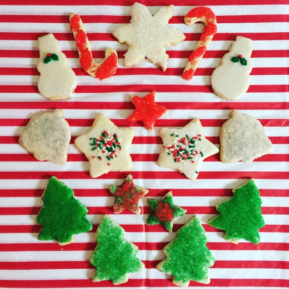 Christmas cookies by Susane Colasanti