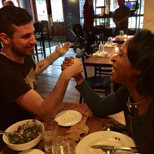 Adam Silvera and Nicola Yoon, NYC TAF 2017