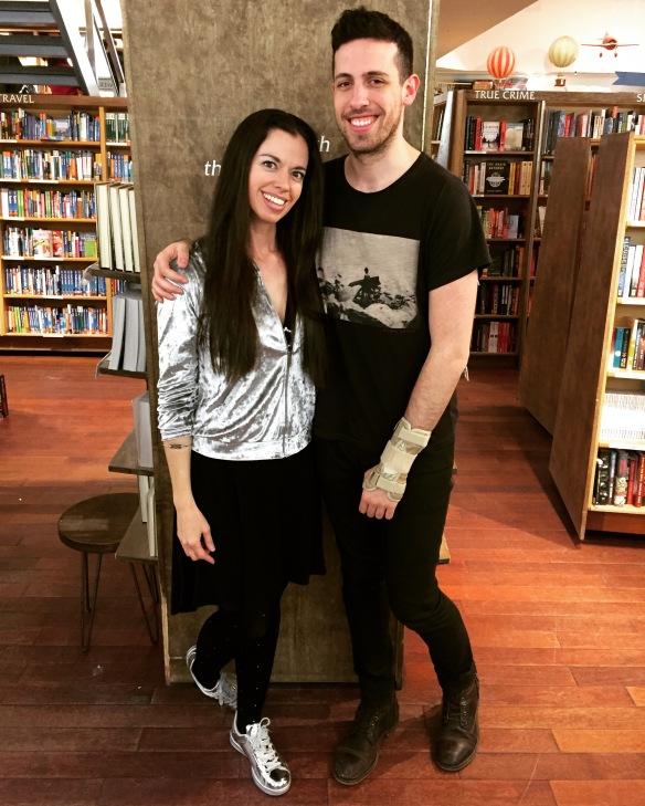 Susane Colasanti and Adam Silvera at McNally Jackson Books, NYC TAF 2017