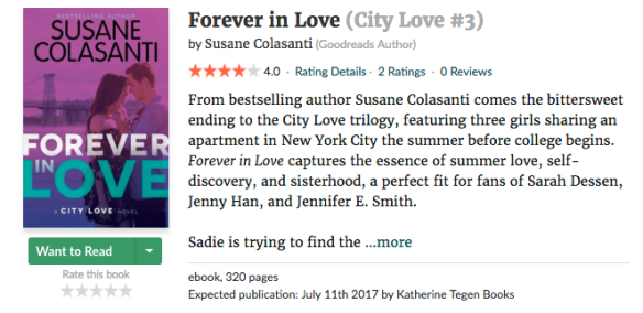 Forever in Love - Goodreads Want to Read
