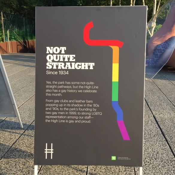 The High Line, Pride Month 2017