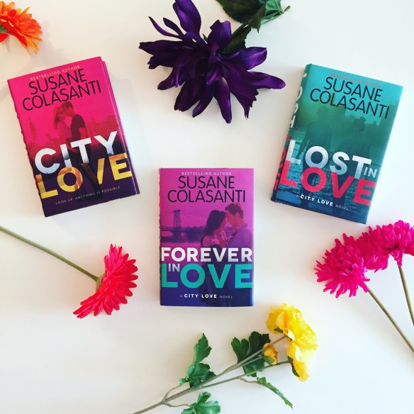 The City Love trilogy by Susane Colasanti